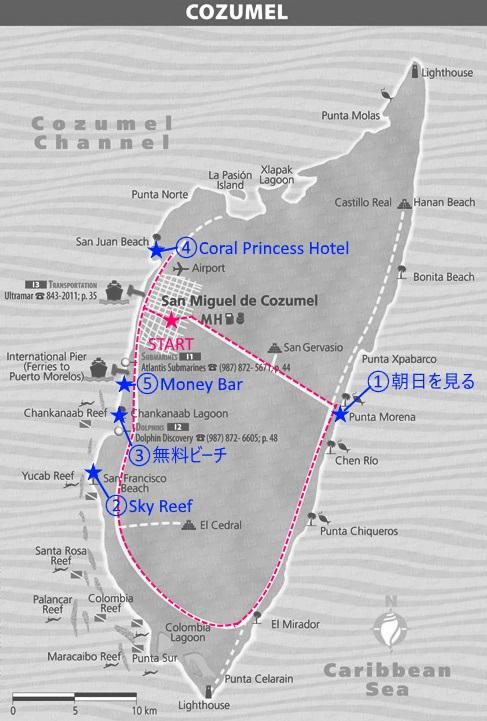 コスメル_地図