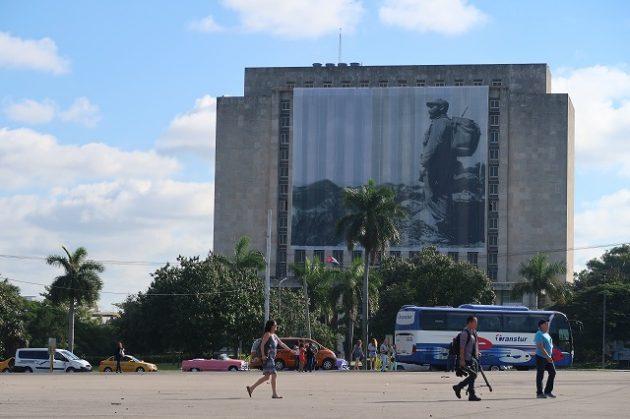 キューバ_ハバナ_革命広場
