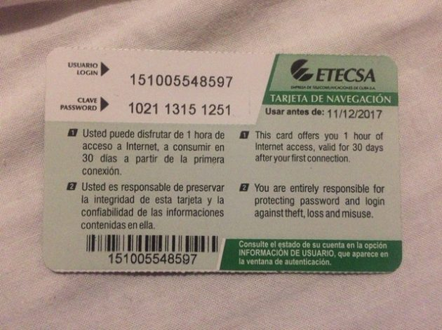 ETECSA_キューバ