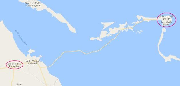 カヨサンタマリア_地図
